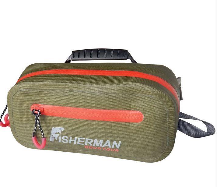 FISHERMAN NOVA TOUR ФРОГ PRO водонепроницаемая поясная сумка для рыбалки