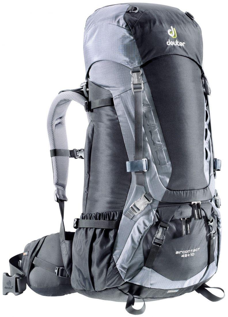 Deuter Aircontact Aircontact 45L + 10L black-titan - универсальный рюкзак