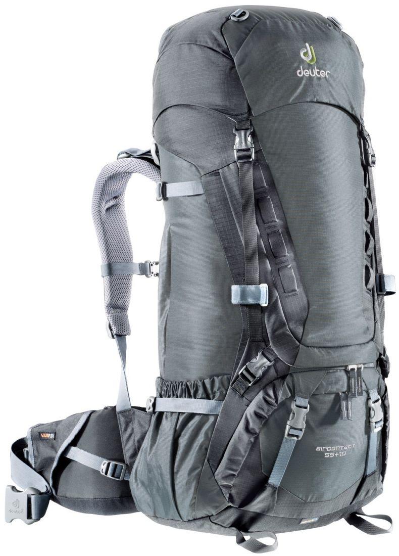 Deuter Aircontact Aircontact 55L + 10L granite-black туристический рюкзак