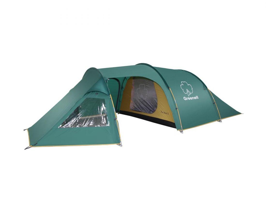 GREENELL NOVA TOUR АРДИ 3 просторная трёхместная палатка
