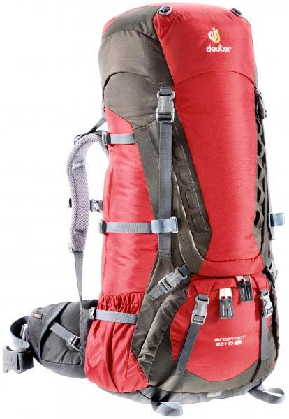 Deuter Aircontact Aircontact 60 + 10 SL cranberry-stone туристический рюкзак